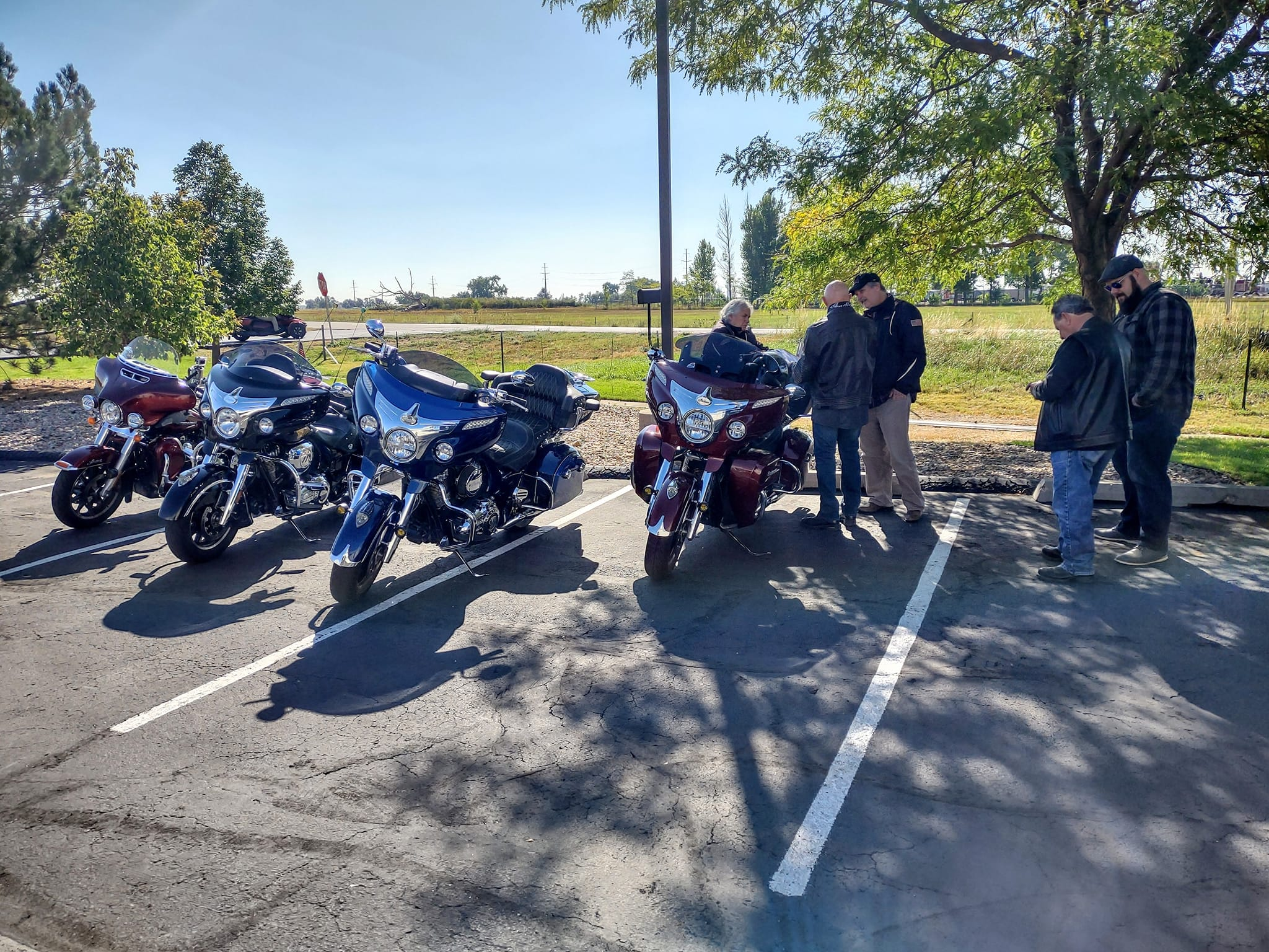 Northern Colorado Indian Motorcycle Riders Group Ride to Cheyenne